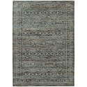 """Oriental Weavers Andorra 6' 7"""" X  9' 6"""" Casual Blue/ Purple Rectangle - Item Number: AND7127A67X96"""