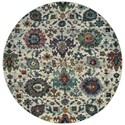"Oriental Weavers Andorra 7'10"" Round Rug - Item Number: AND7129A710ROUND"