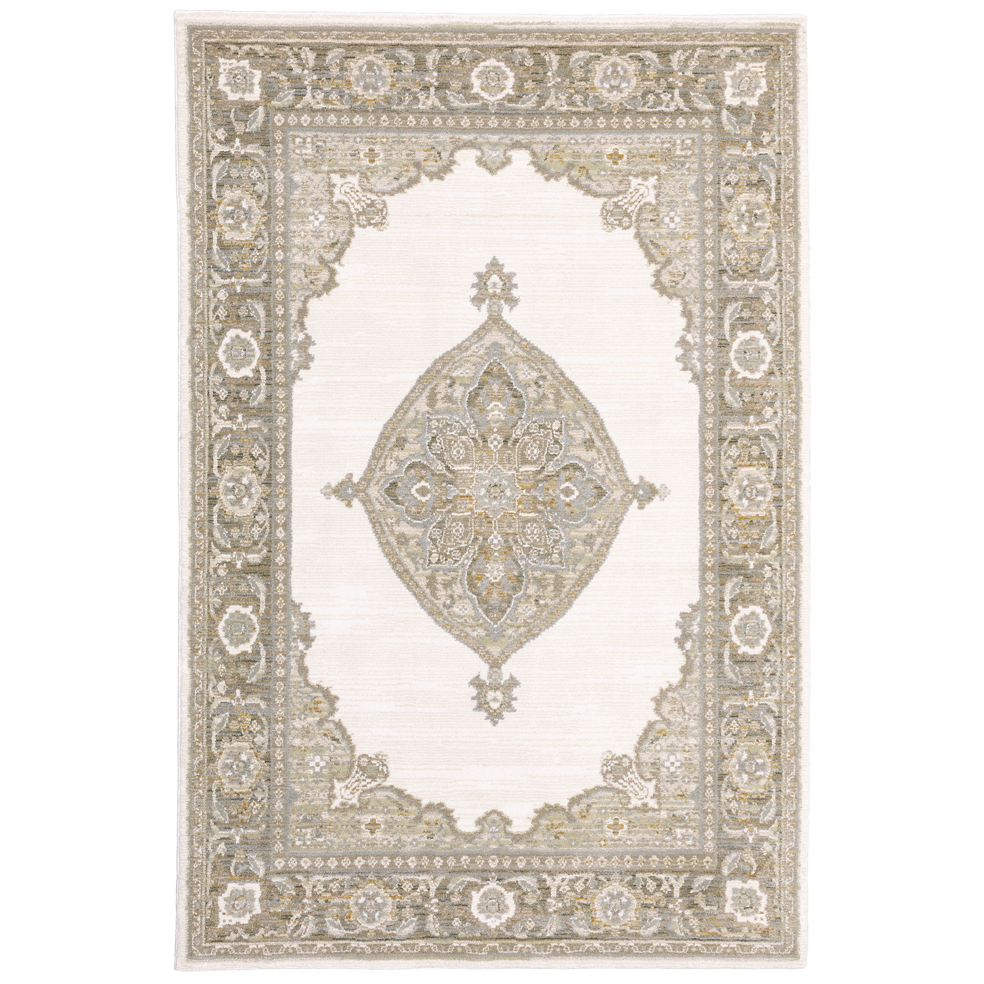 """Andorra 1'10"""" X  3' 2"""" Rectangle Rug by Oriental Weavers at Steger's Furniture"""