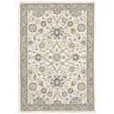 """Oriental Weavers Andorra 8' 6"""" X 11' 7"""" Rectangle Rug - Item Number: AND8918I86X117"""