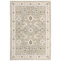 """Oriental Weavers Andorra 5' 3"""" X  7' 3"""" Rectangle Rug - Item Number: AND8930L53X73"""