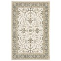 """Oriental Weavers Andorra 3' 3"""" X  5' 2"""" Rectangle Rug - Item Number: AND9537P33X52"""