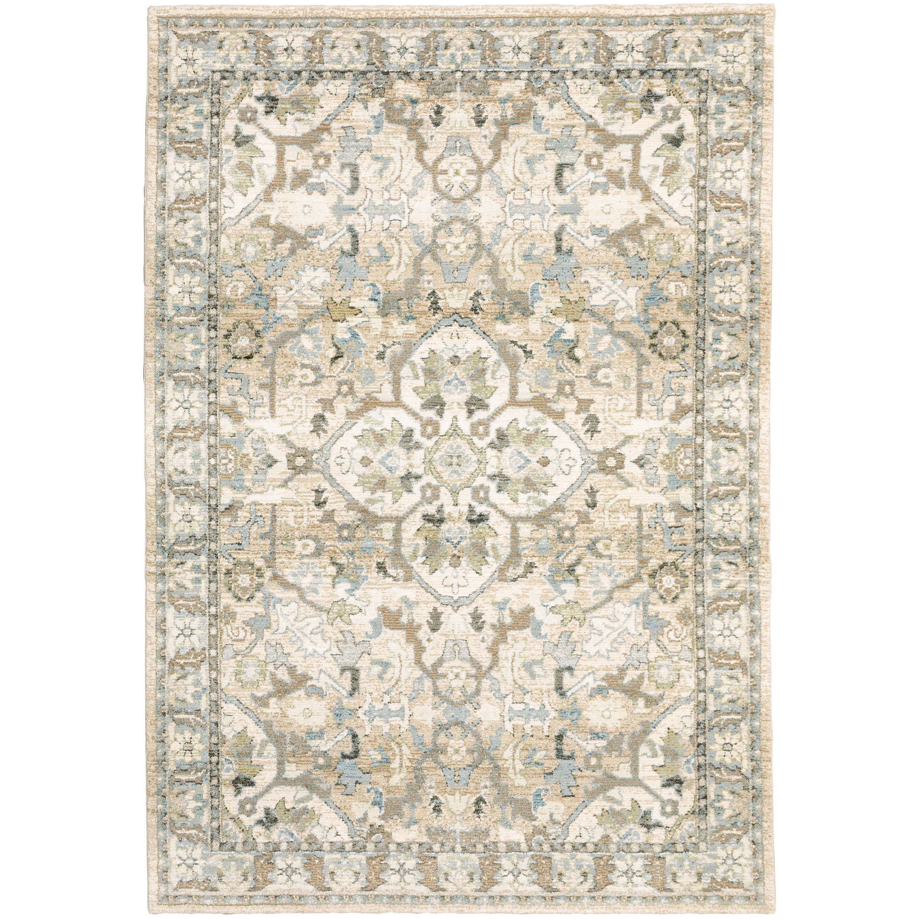 """Andorra 6' 7"""" X  9' 6"""" Rectangle Rug by Oriental Weavers at Steger's Furniture"""