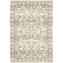 "Oriental Weavers Andorra 6' 7"" X  9' 6"" Rectangle Rug - Item Number: AND9818G67X96"