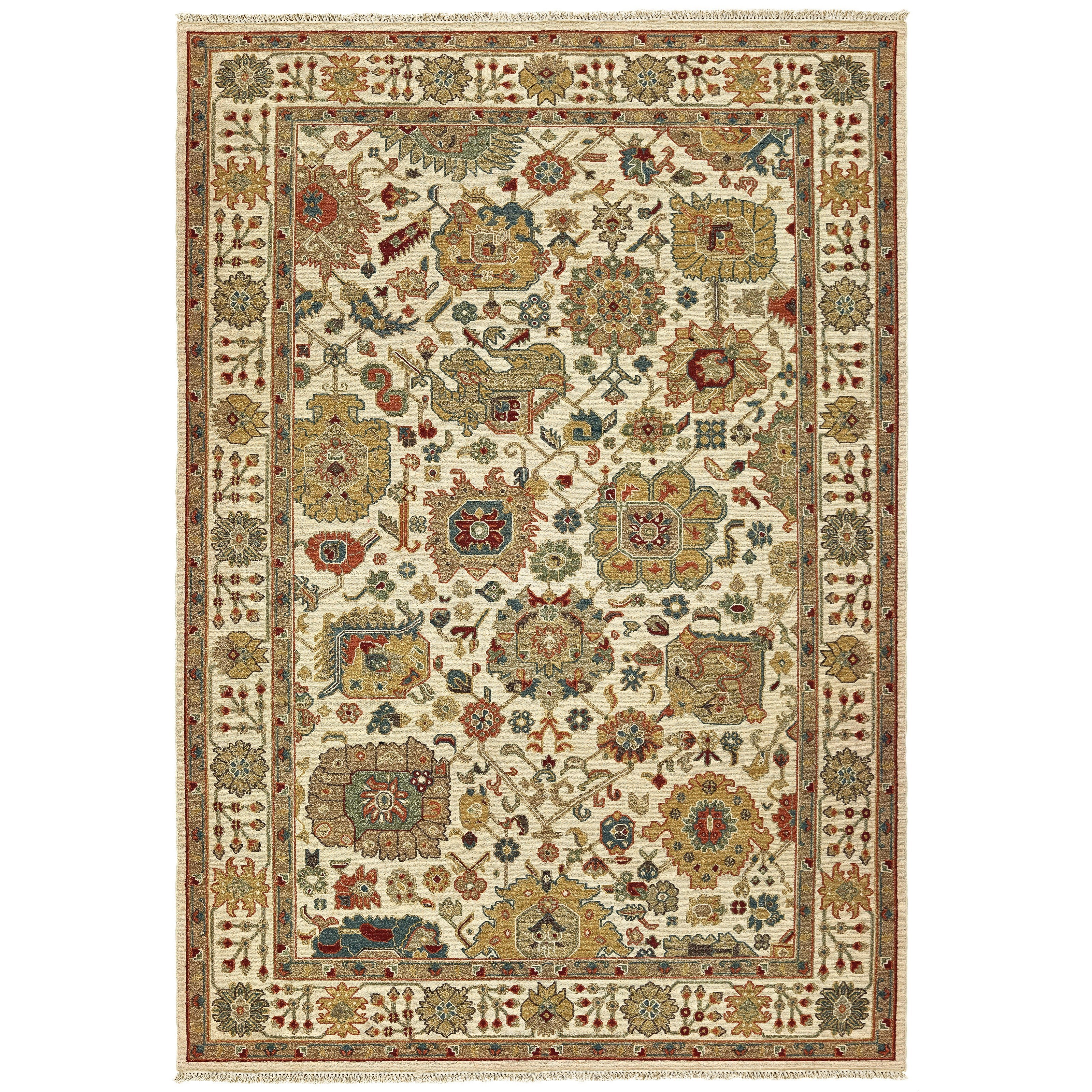 Angora 6' X  9' Rectangle Rug by Oriental Weavers at Darvin Furniture
