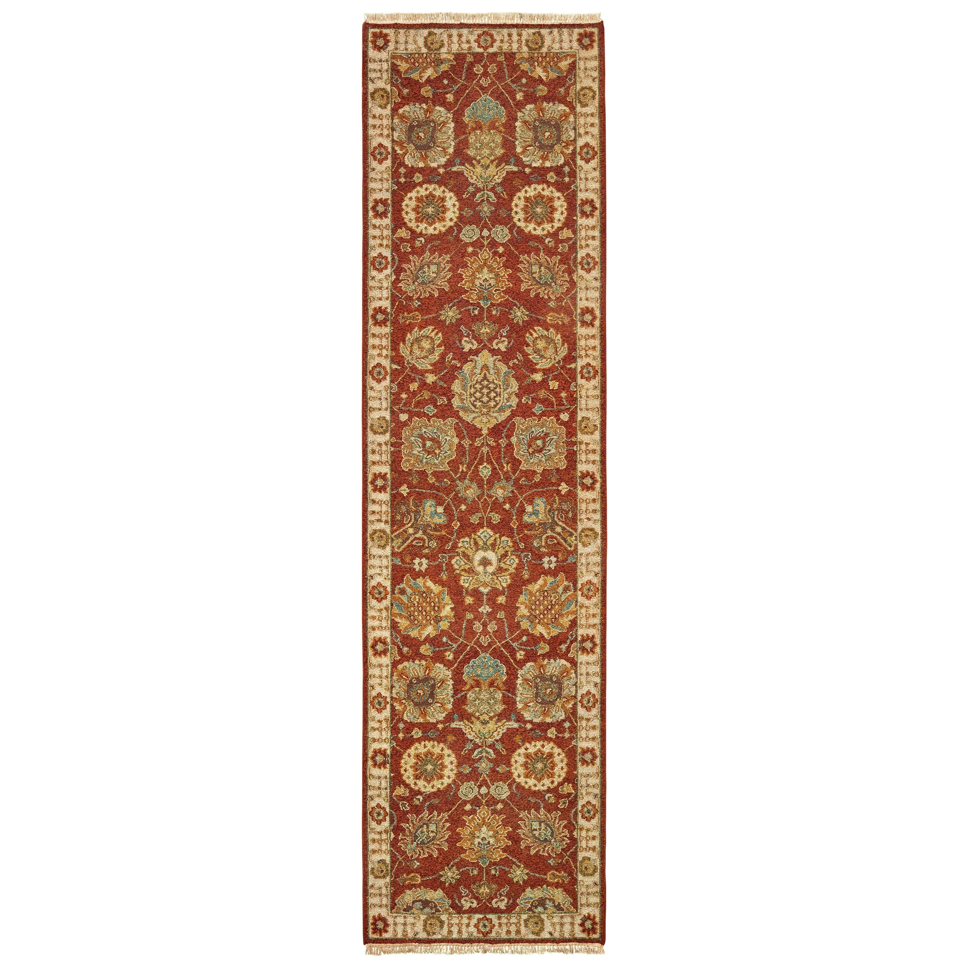 "Angora 2' 6"" X 10' Runner Rug by Oriental Weavers at Steger's Furniture"