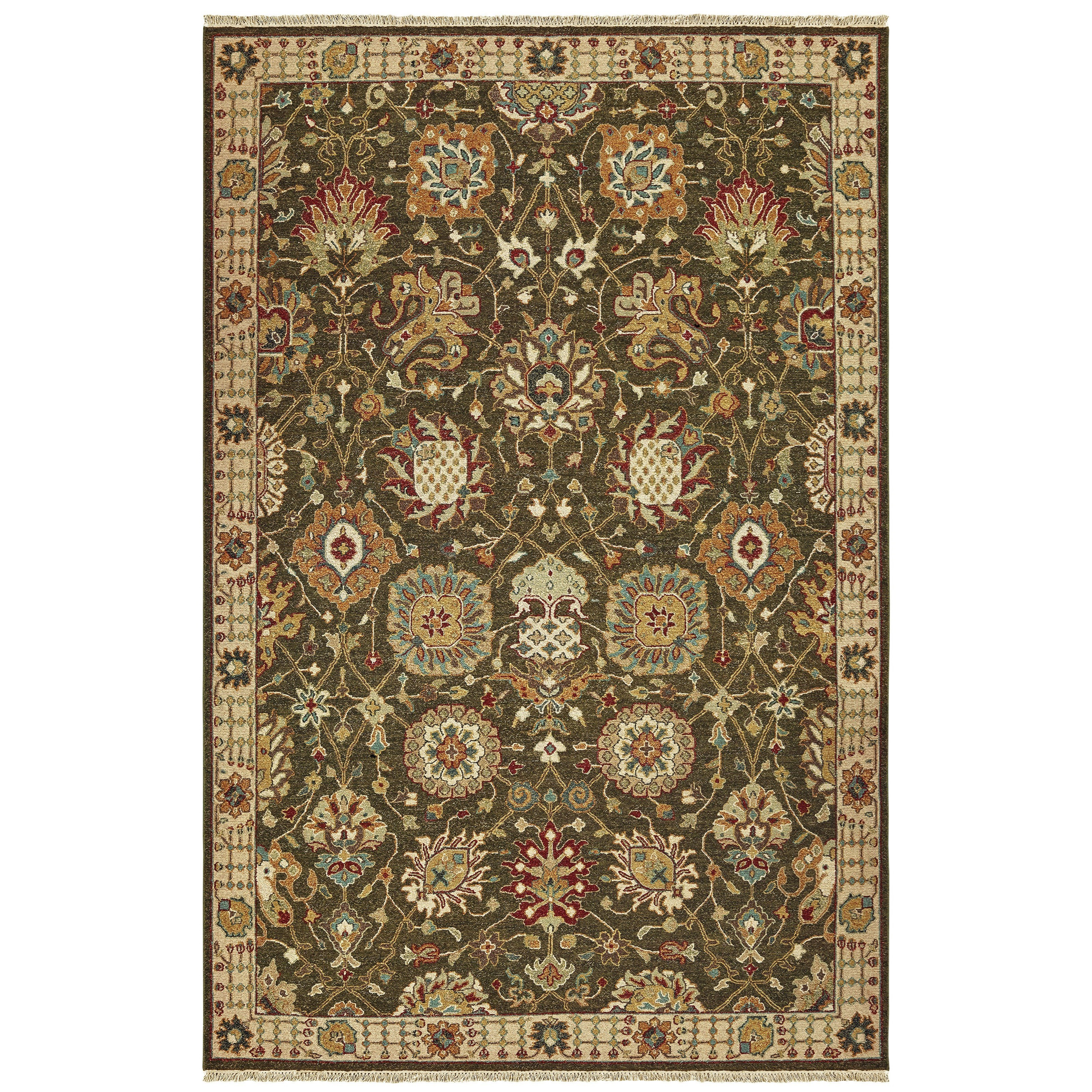 Angora 8' X 10' Rectangle Rug by Oriental Weavers at Darvin Furniture