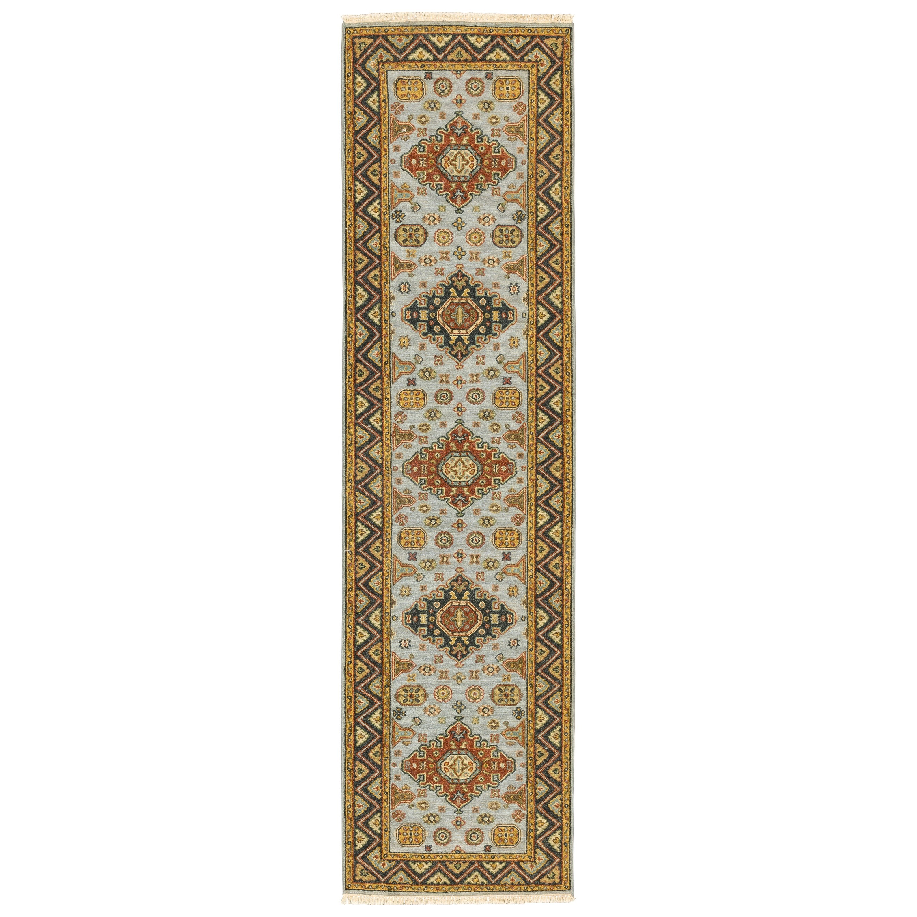 "Angora 2' 6"" X 10' Runner Rug by Oriental Weavers at Darvin Furniture"