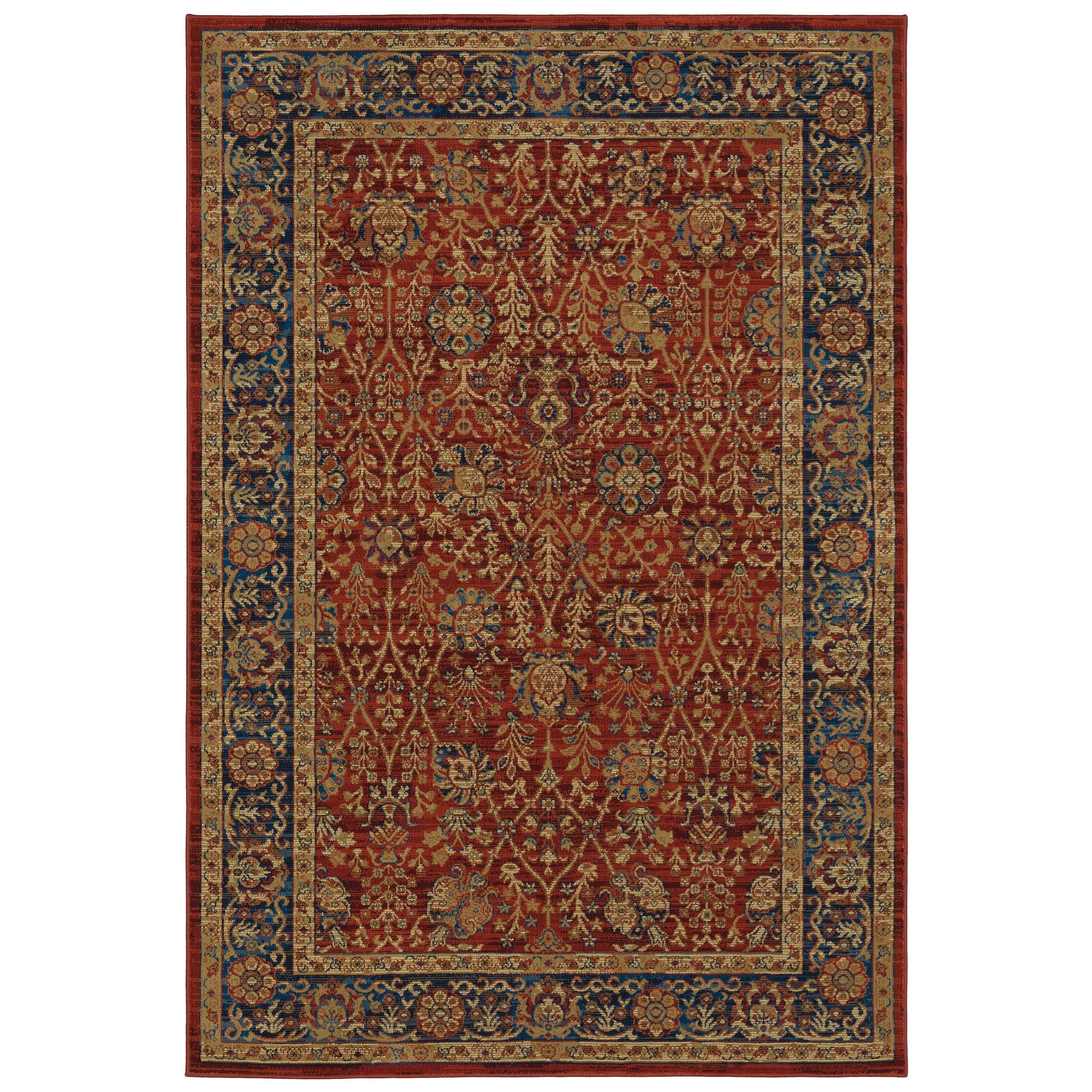 "Ankara 5' 3"" X  7' 6"" Rectangle Rug by Oriental Weavers at Steger's Furniture"