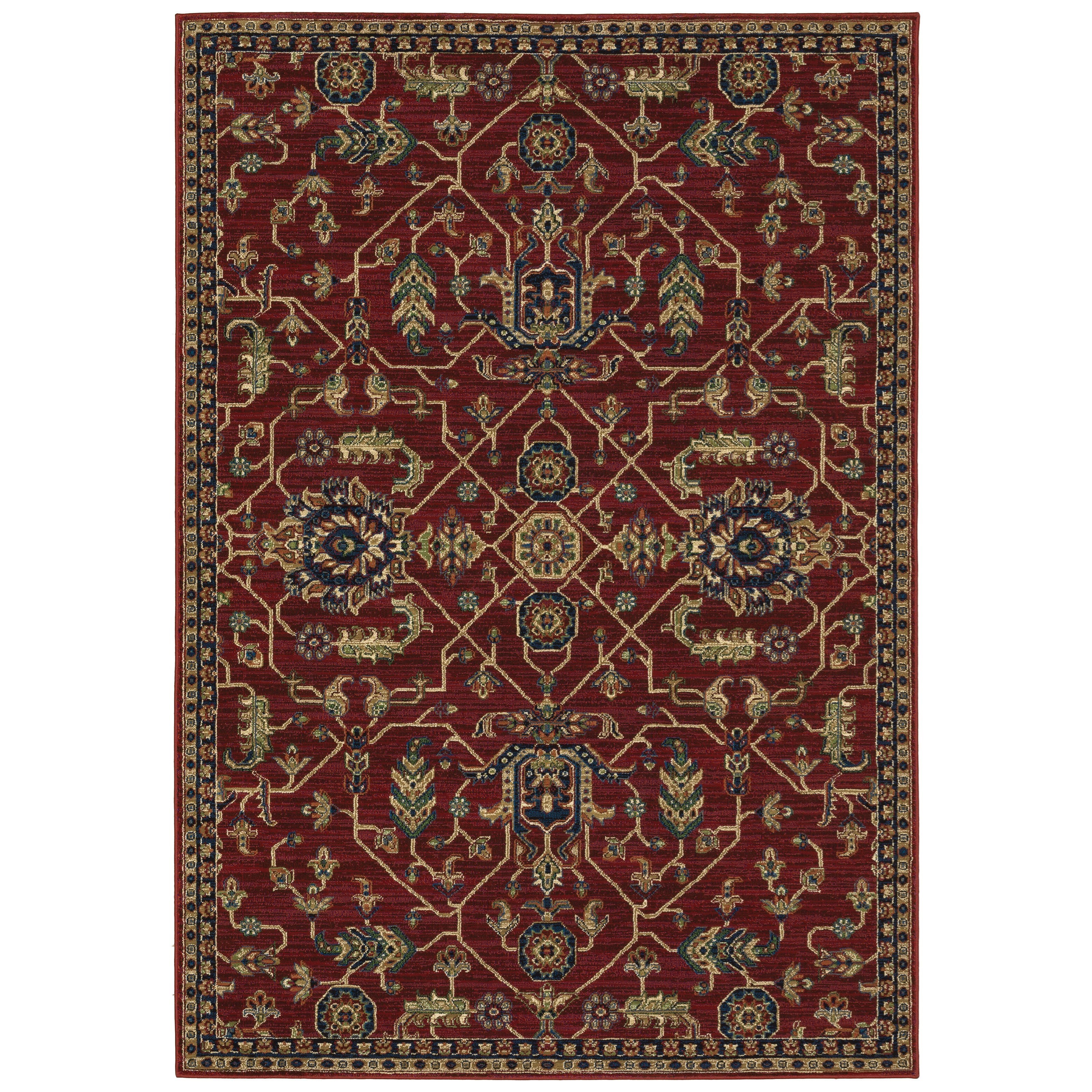"""Ankara 3'10"""" X  5' 5"""" Rectangle Rug by Oriental Weavers at Darvin Furniture"""