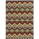 """Oriental Weavers Arabella 5' 3"""" X  7' 3"""" Rug - Item Number: A15754160220ST"""