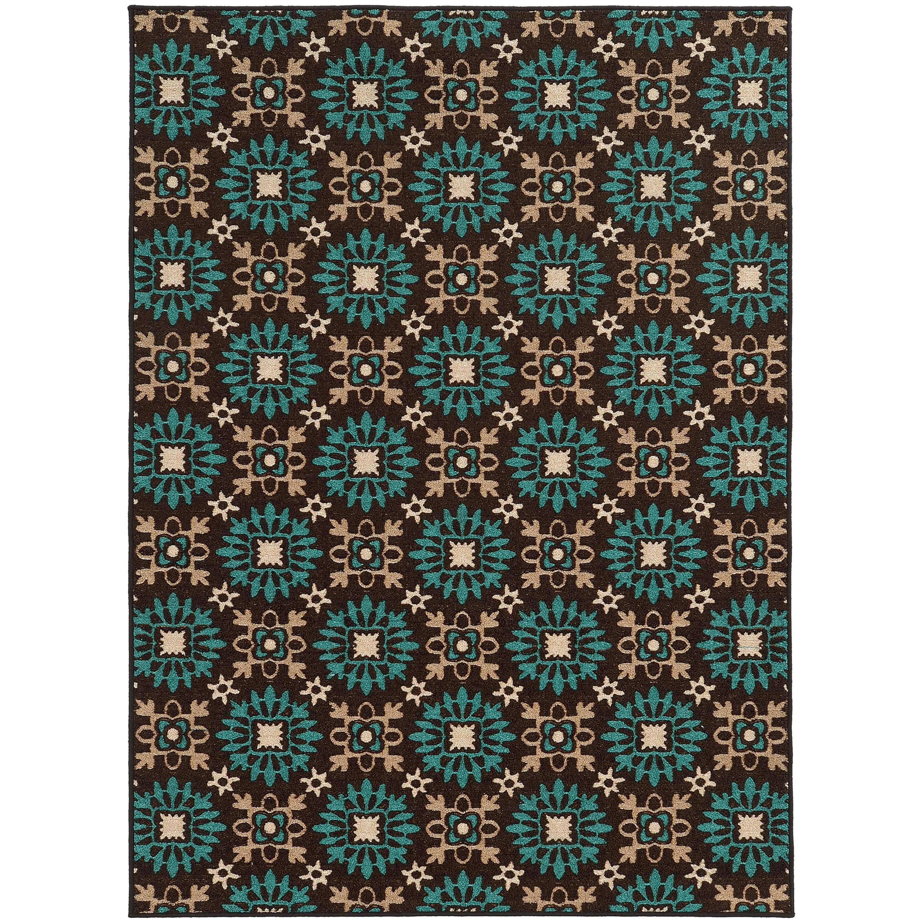"""Oriental Weavers Arabella 6' 7"""" X  9' 3"""" Rug - Item Number: A15862200280ST"""