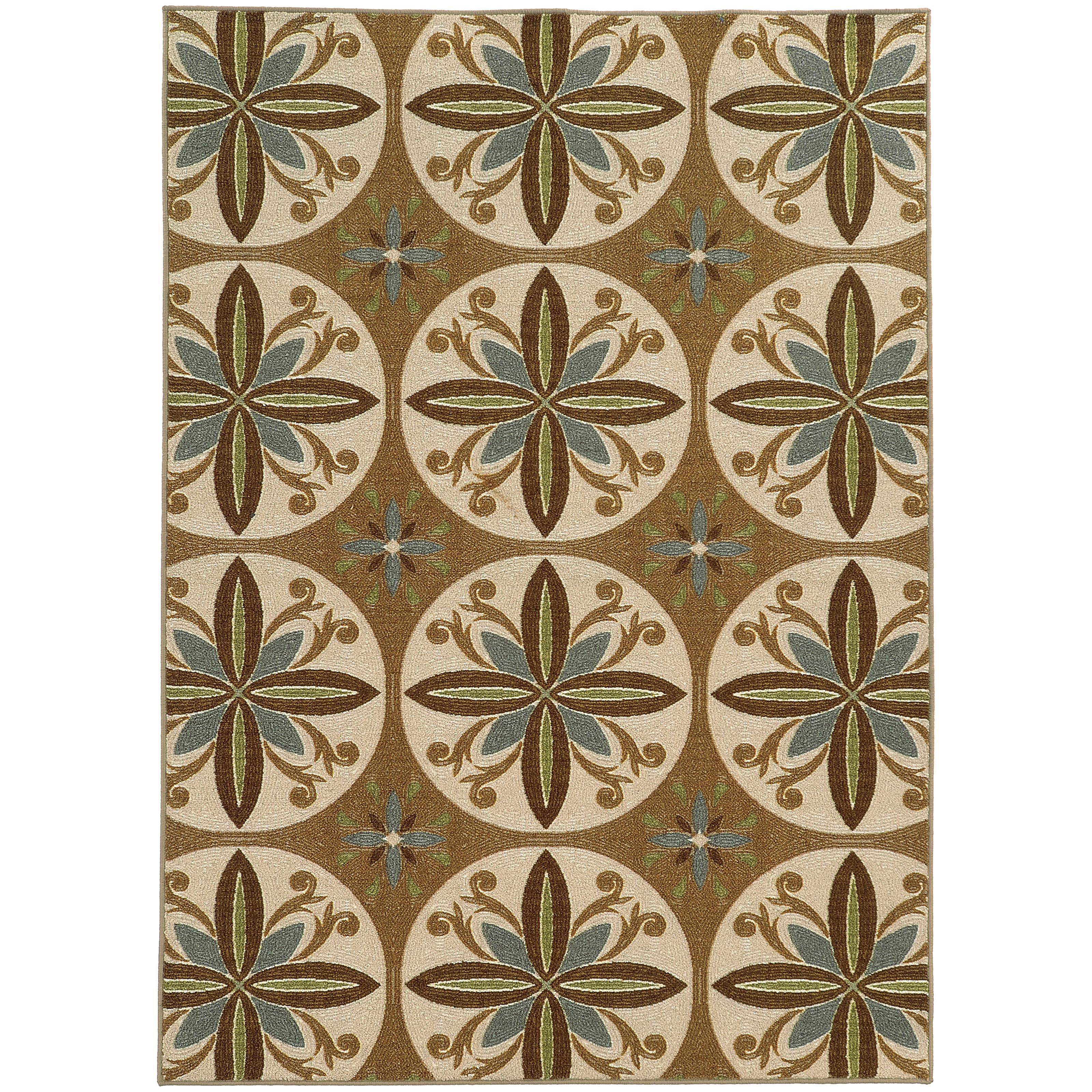 """Oriental Weavers Arabella 2' 2"""" X  3' 9"""" Rug - Item Number: A15863066115ST"""