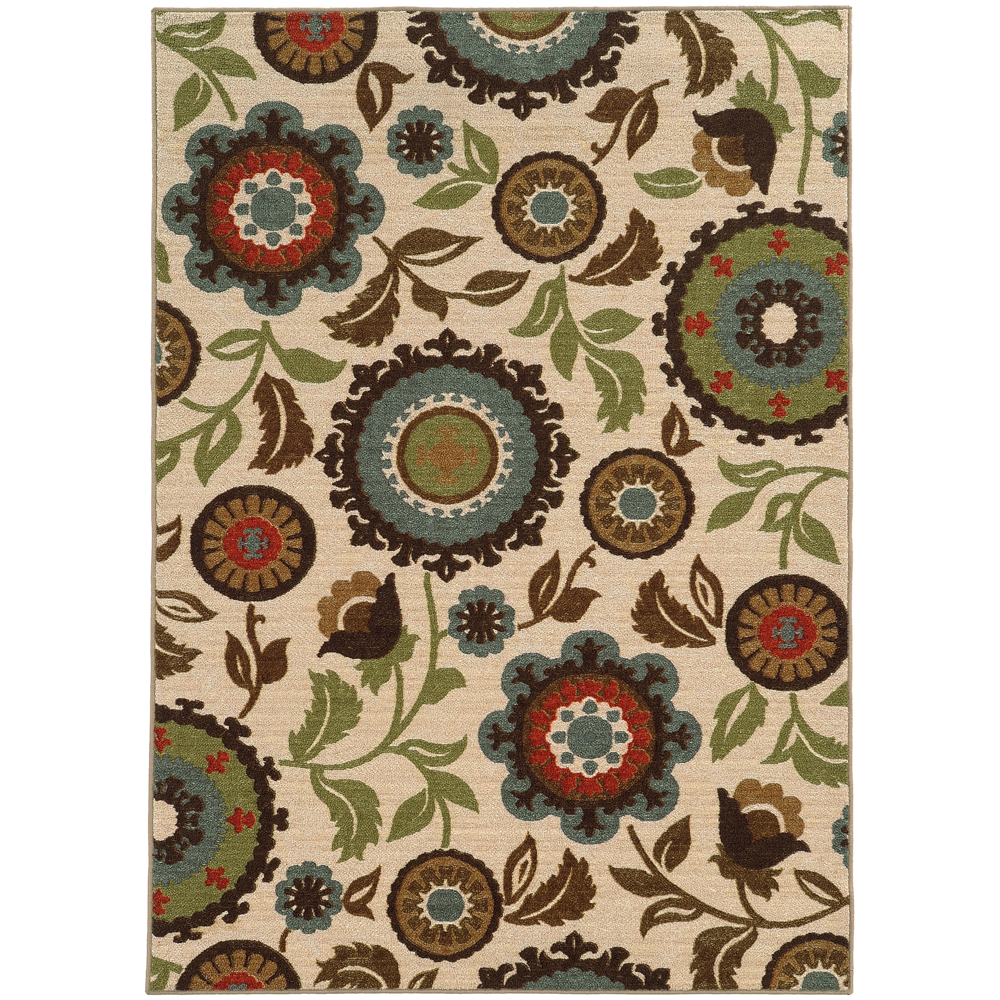 """Oriental Weavers Arabella 7'10"""" X 10' 0"""" Rug - Item Number: A41888240305ST"""