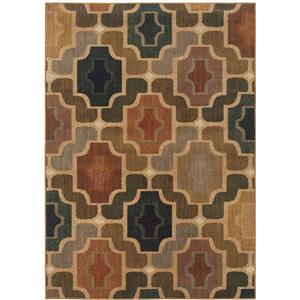 Oriental Weavers Area Rugs - OW Kasbah 3838B - 7.6x5.3
