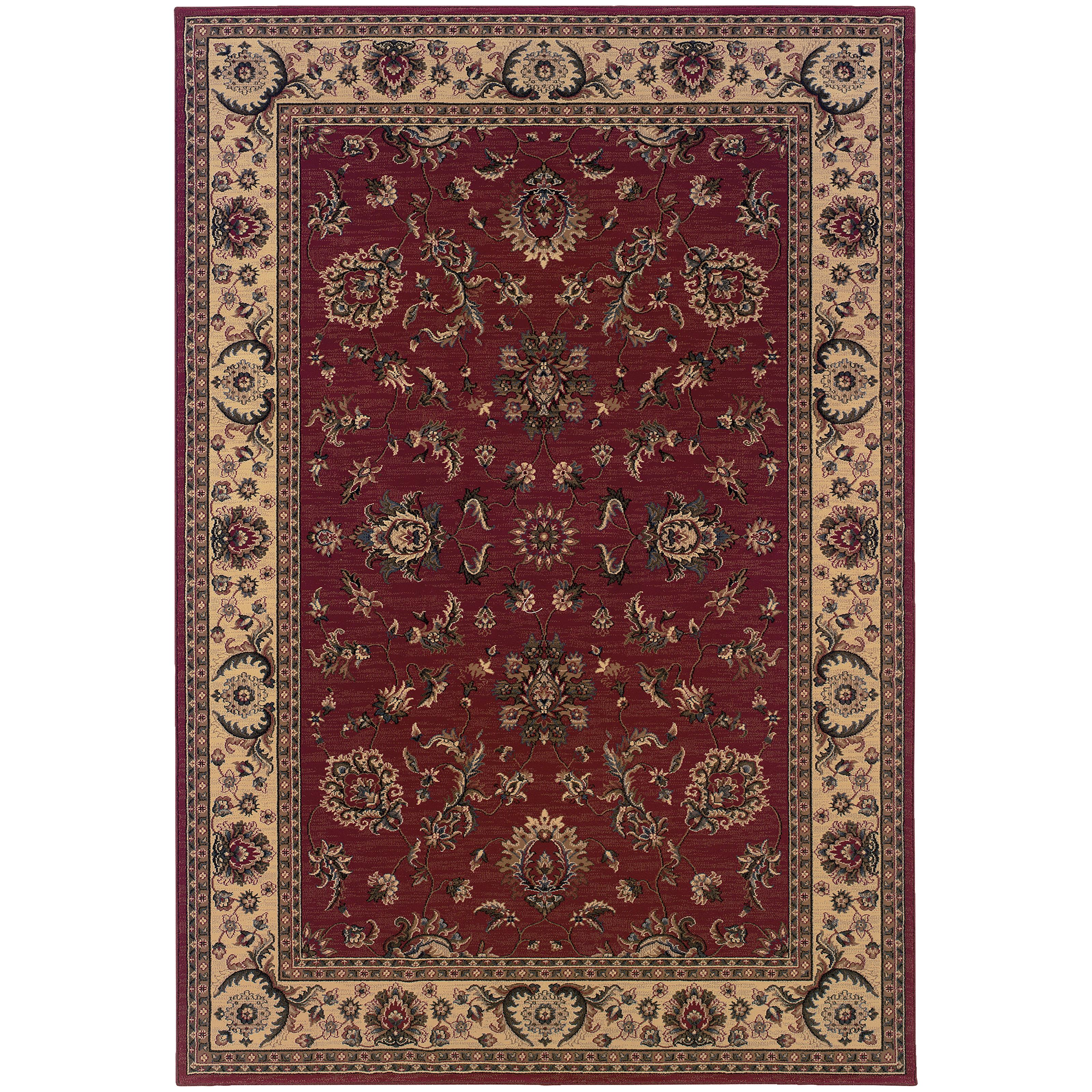 Oriental Weavers Ariana 4' X  6' Rug - Item Number: A311C3120180ST
