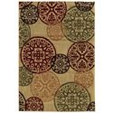 "Oriental Weavers Aston 6' 7"" X  9' 3"" Rug - Item Number: A2160Y200280ST"