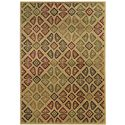 "Oriental Weavers Aston 3' 3"" X  5' 5"" Rug - Item Number: A537W9100165ST"