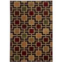 "Oriental Weavers Aston 5' 3"" X  7' 3"" Rug - Item Number: A8025D160220ST"
