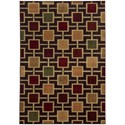 "Oriental Weavers Aston 7'10"" X 10' 0"" Rectangle Area Rug - Item Number: AST8025D710X10"