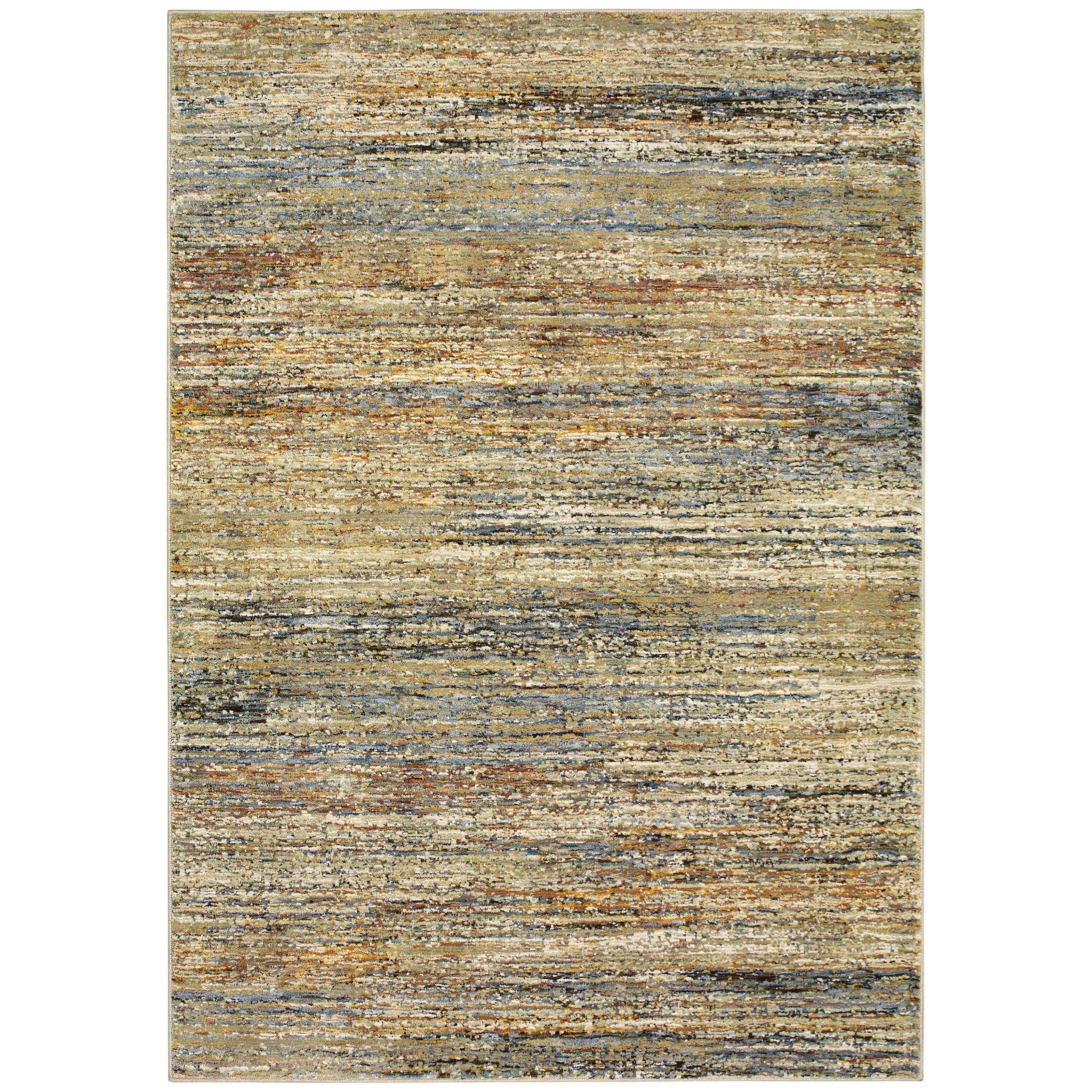 "Atlas 5' 3"" X  7' 3"" Rectangle Rug by Oriental Weavers at HomeWorld Furniture"