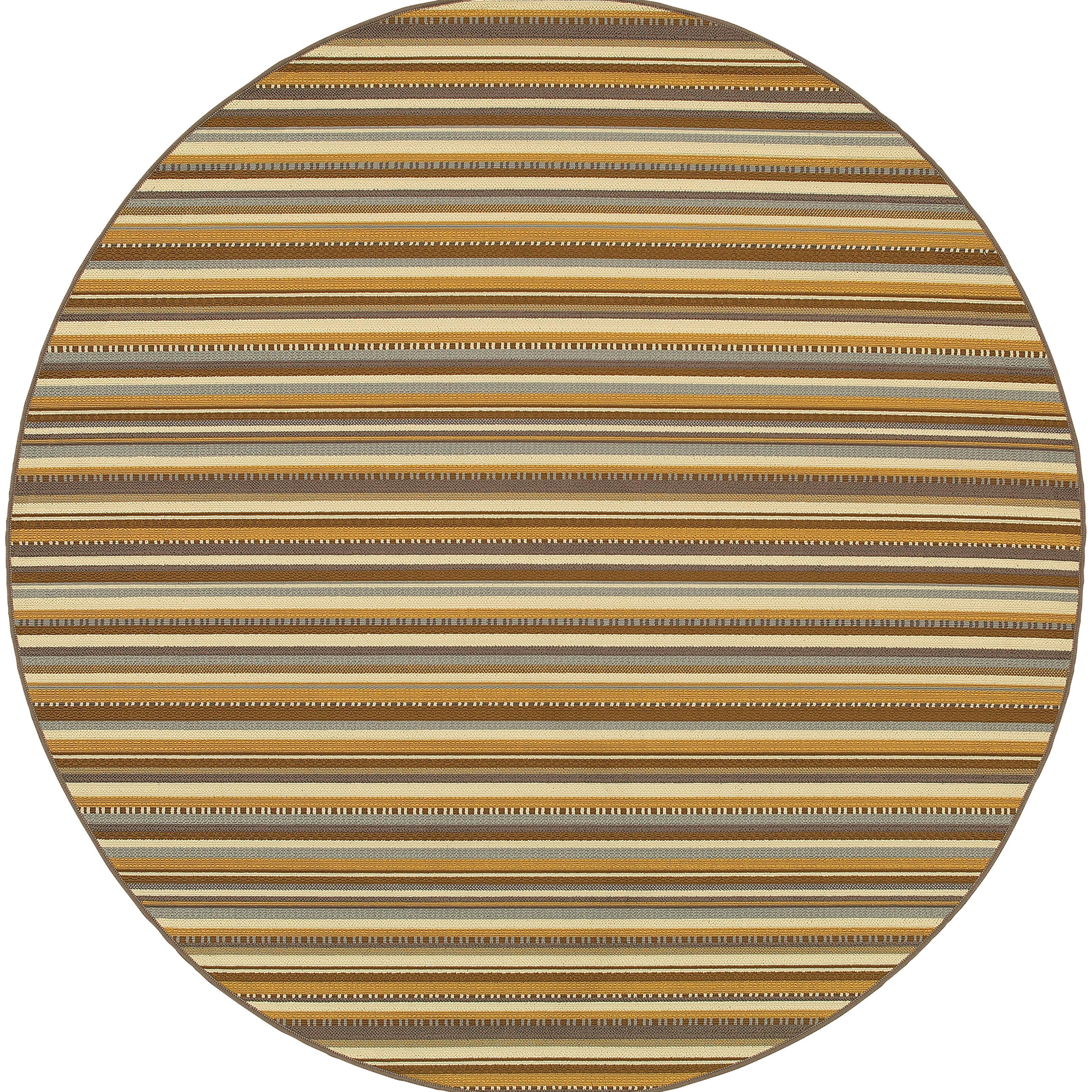 """Oriental Weavers Bali 7'10"""" X  7'10"""" Rug - Item Number: B1001J240RDST"""
