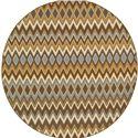 """Oriental Weavers Bali 7'10"""" X  7'10"""" Rug - Item Number: B1732D240RDST"""