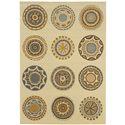"Oriental Weavers Bali 3' 7"" X  5' 6"" Rug - Item Number: B3162U110170ST"