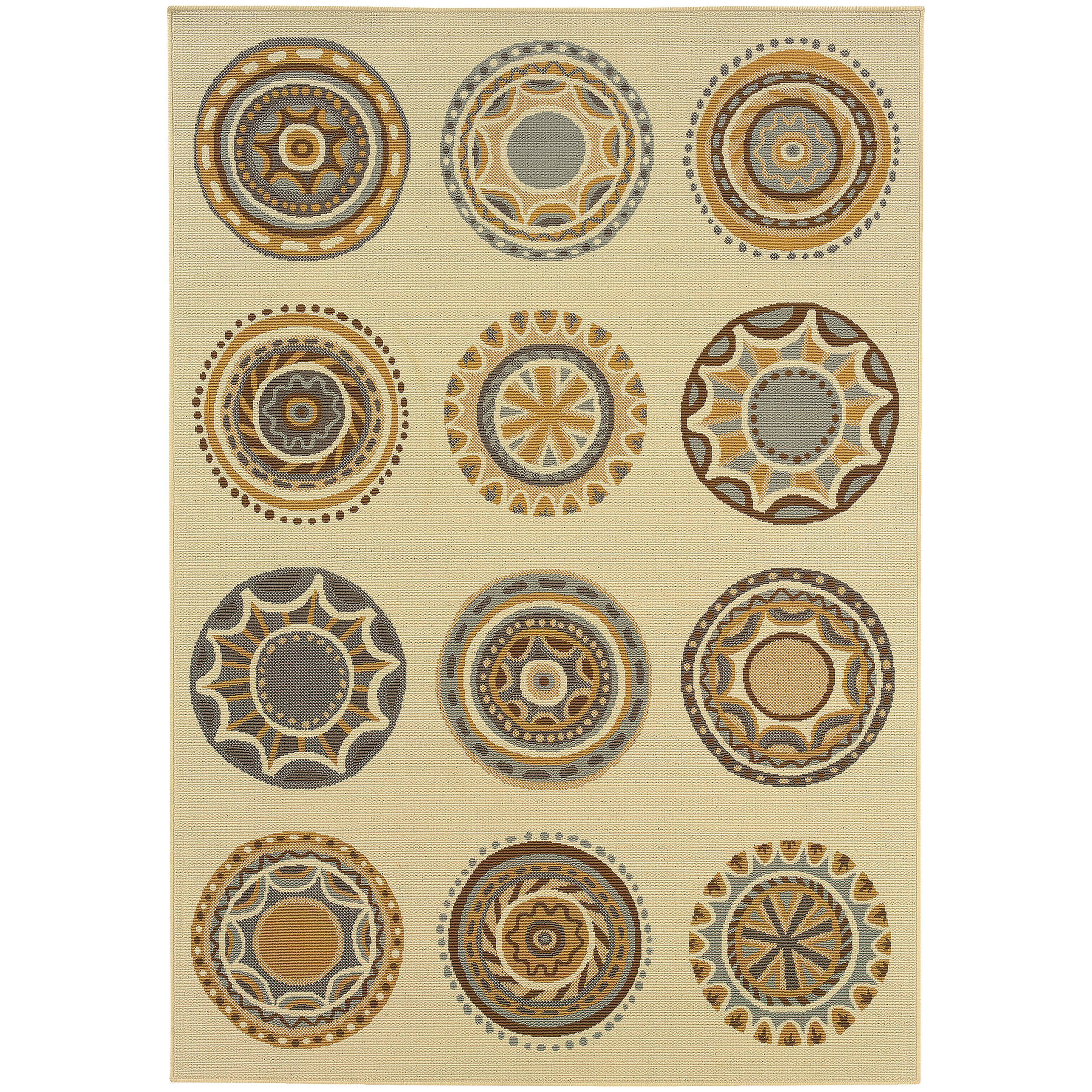 "Oriental Weavers Bali 5' 3"" X  7' 6"" Rug - Item Number: B3162U160230ST"