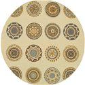 """Oriental Weavers Bali 7'10"""" X  7'10"""" Rug - Item Number: B3162U240RDST"""