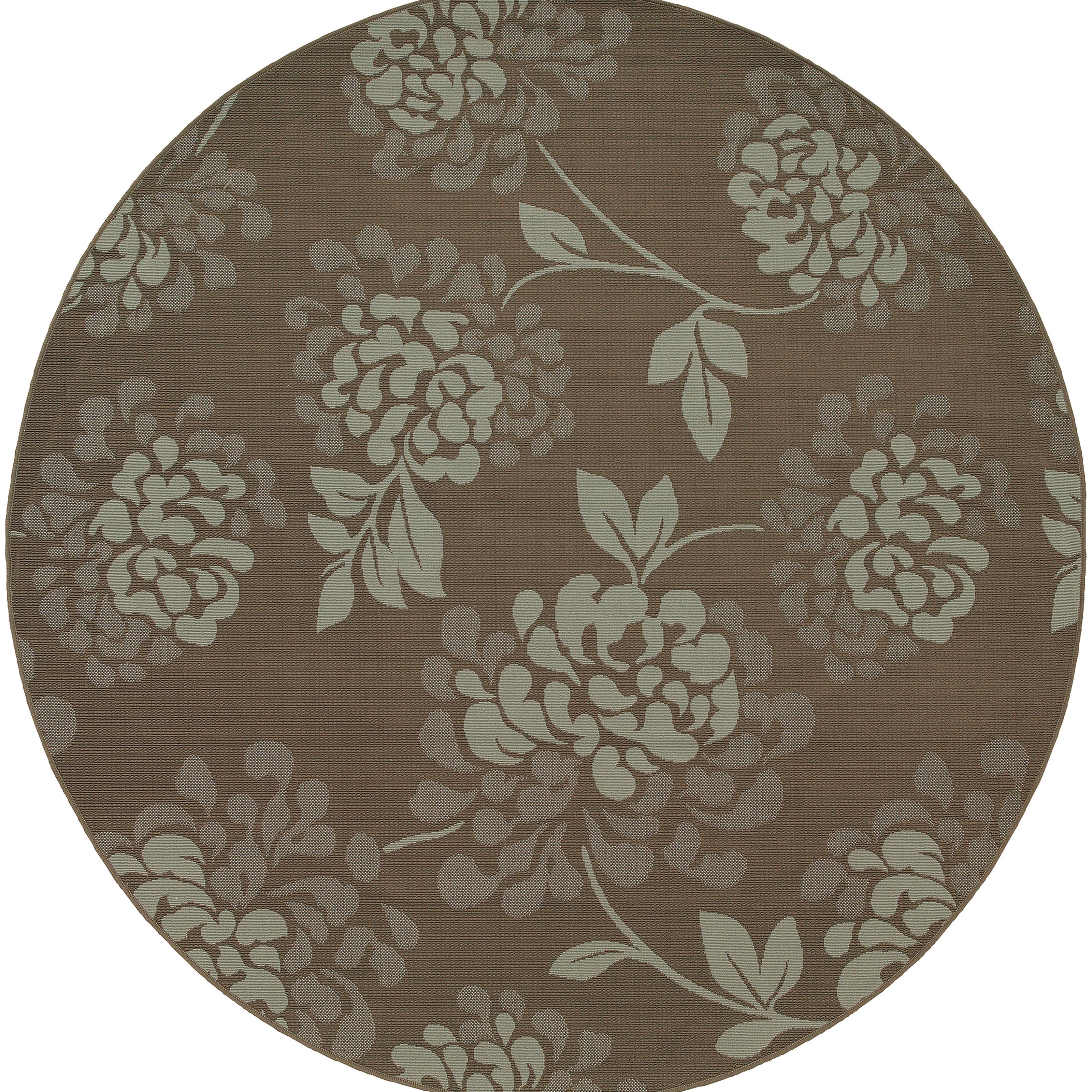 """Oriental Weavers Bali 7'10"""" X  7'10"""" Rug - Item Number: B4335B240RDST"""