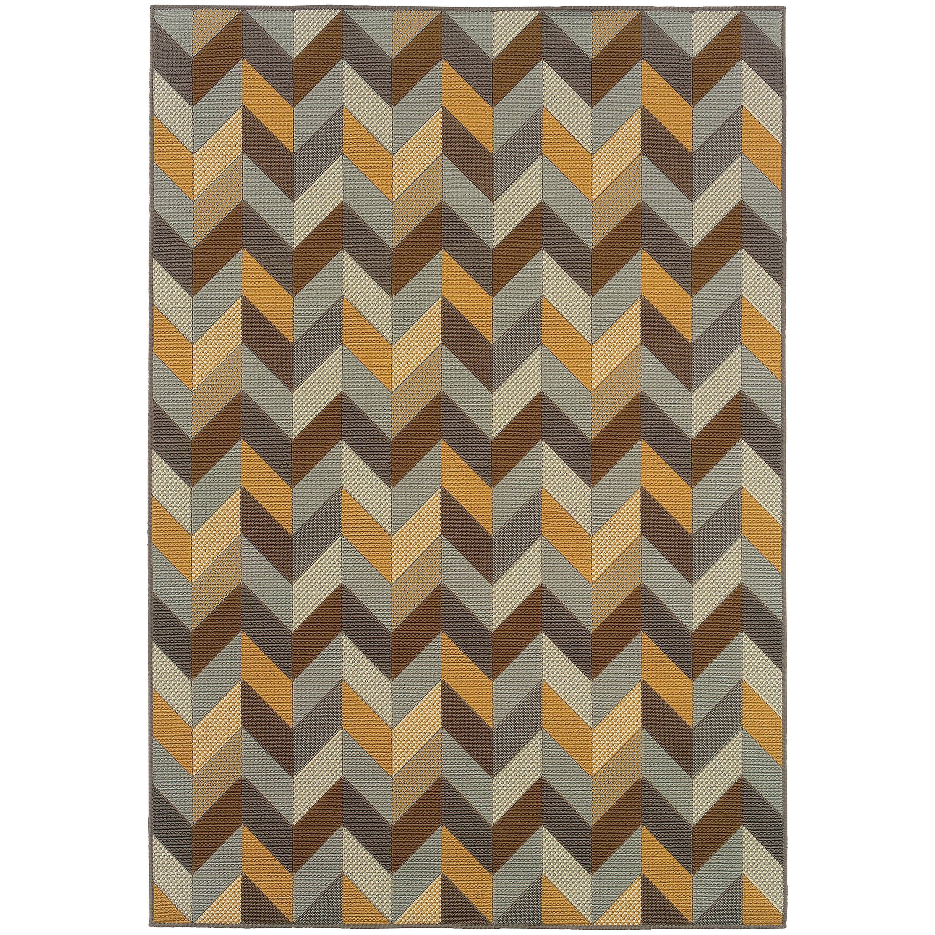 "Oriental Weavers Bali 3' 7"" X  5' 6"" Rug - Item Number: B4902X110170ST"