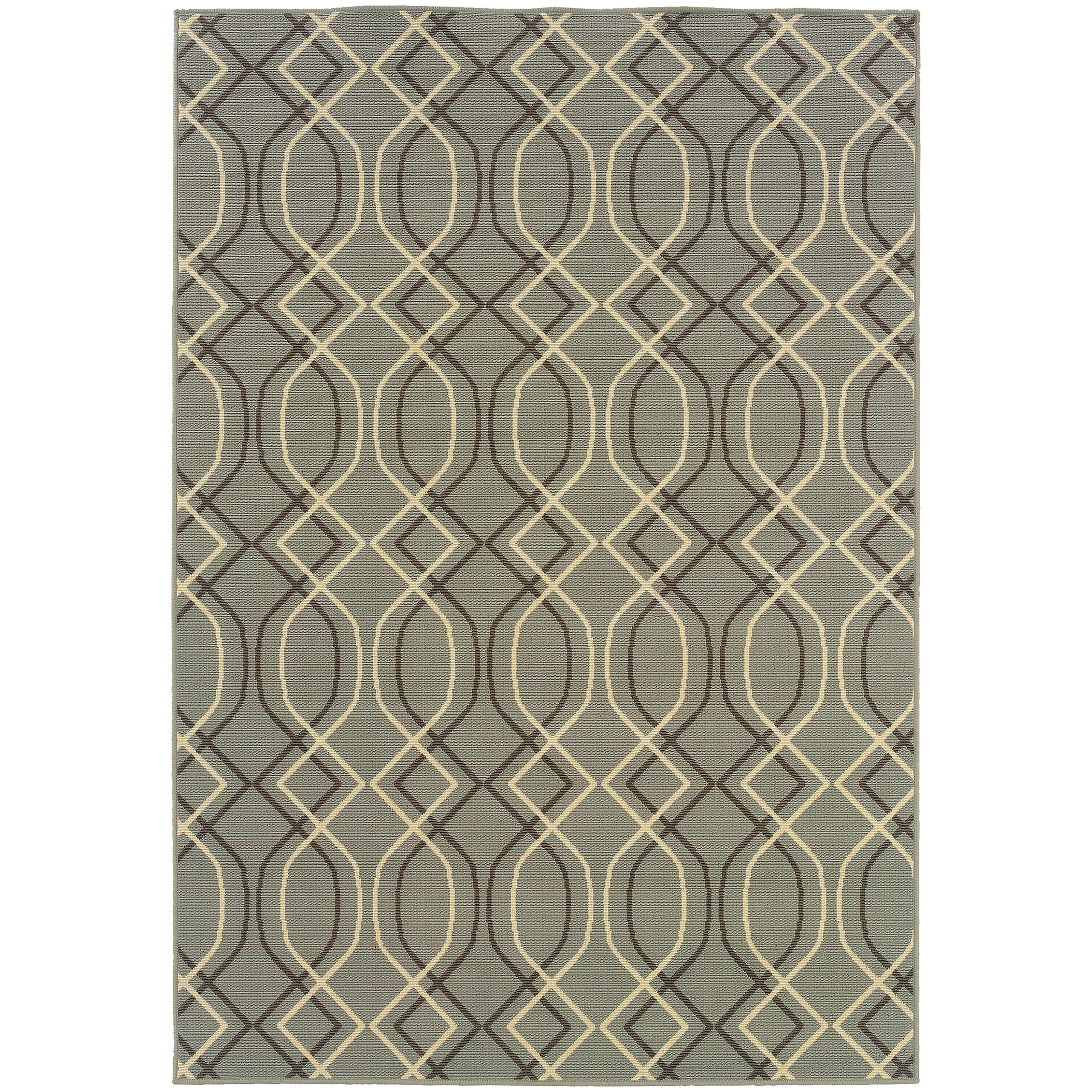 """Oriental Weavers Bali 1' 9"""" X  3' 9"""" Rug - Item Number: B4926L055115ST"""