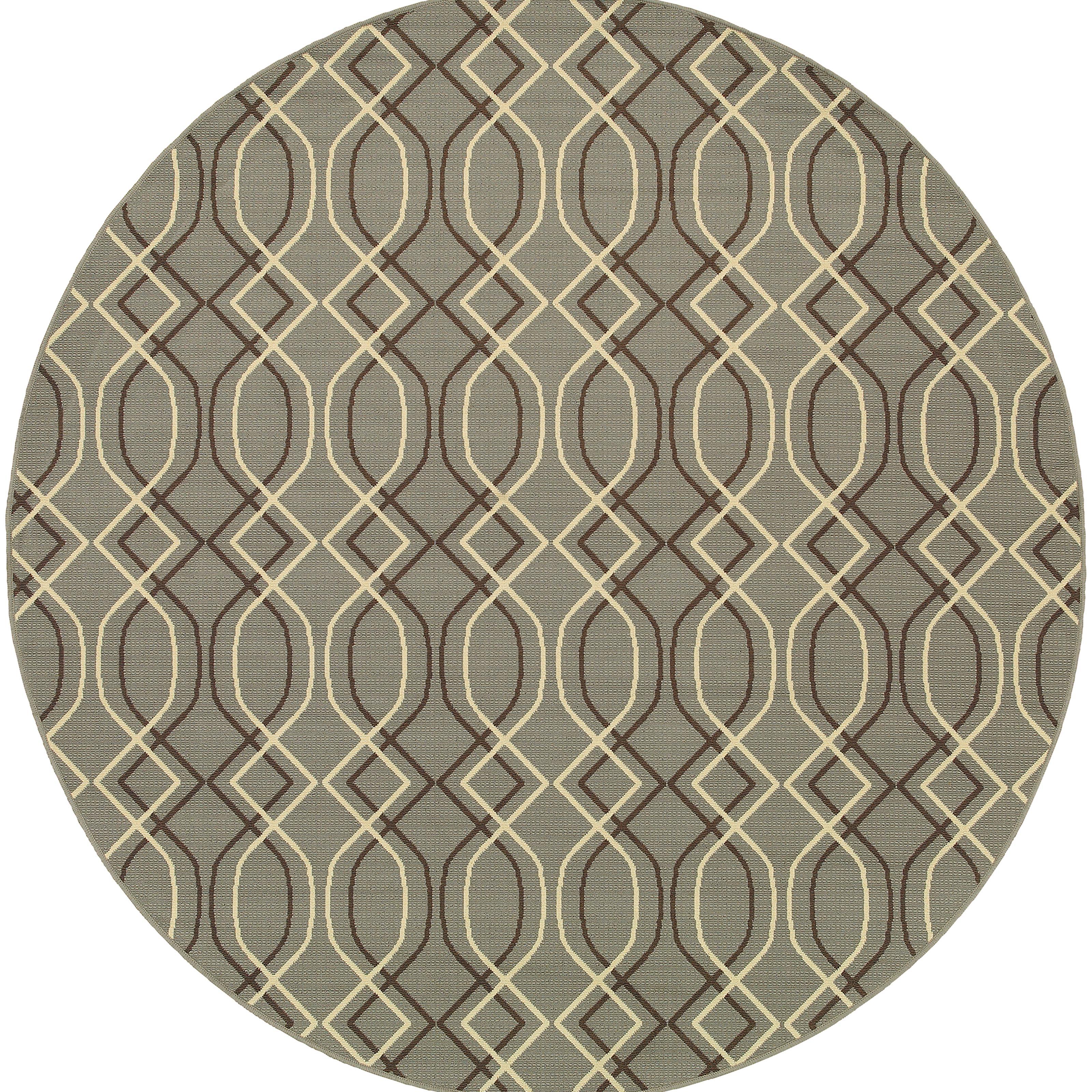 """Oriental Weavers Bali 7'10"""" X  7'10"""" Rug - Item Number: B4926L240RDST"""