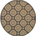 """Oriental Weavers Bali 7'10"""" X  7'10"""" Rug - Item Number: B5863N240RDST"""