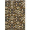 """Oriental Weavers Bali 1' 9"""" X  3' 9"""" Rug - Item Number: B8990H055115ST"""