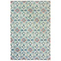 "Oriental Weavers Barbados 5' 3"" X  7' 6"" Rectangle Rug - Item Number: BAR5994Z53X76"
