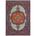 "Oriental Weavers Bohemian 3'10"" X  5' 5"" Rectangle Rug - Item Number: BOH3339M310X55"