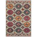 "Oriental Weavers Bohemian 6' 7"" X  9' 1"" Rectangle Rug - Item Number: BOH405J67X96"