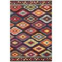 """Oriental Weavers Bohemian 3'10"""" X  5' 5"""" Rectangle Rug - Item Number: BOH668N310X55"""