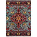 "Oriental Weavers Bohemian 6' 7"" X  9' 1"" Rectangle Rug - Item Number: BOH8222L67X96"