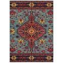 "Oriental Weavers Bohemian 9' 9"" X 12' 2"" Rectangle Rug - Item Number: BOH8222L99X122"