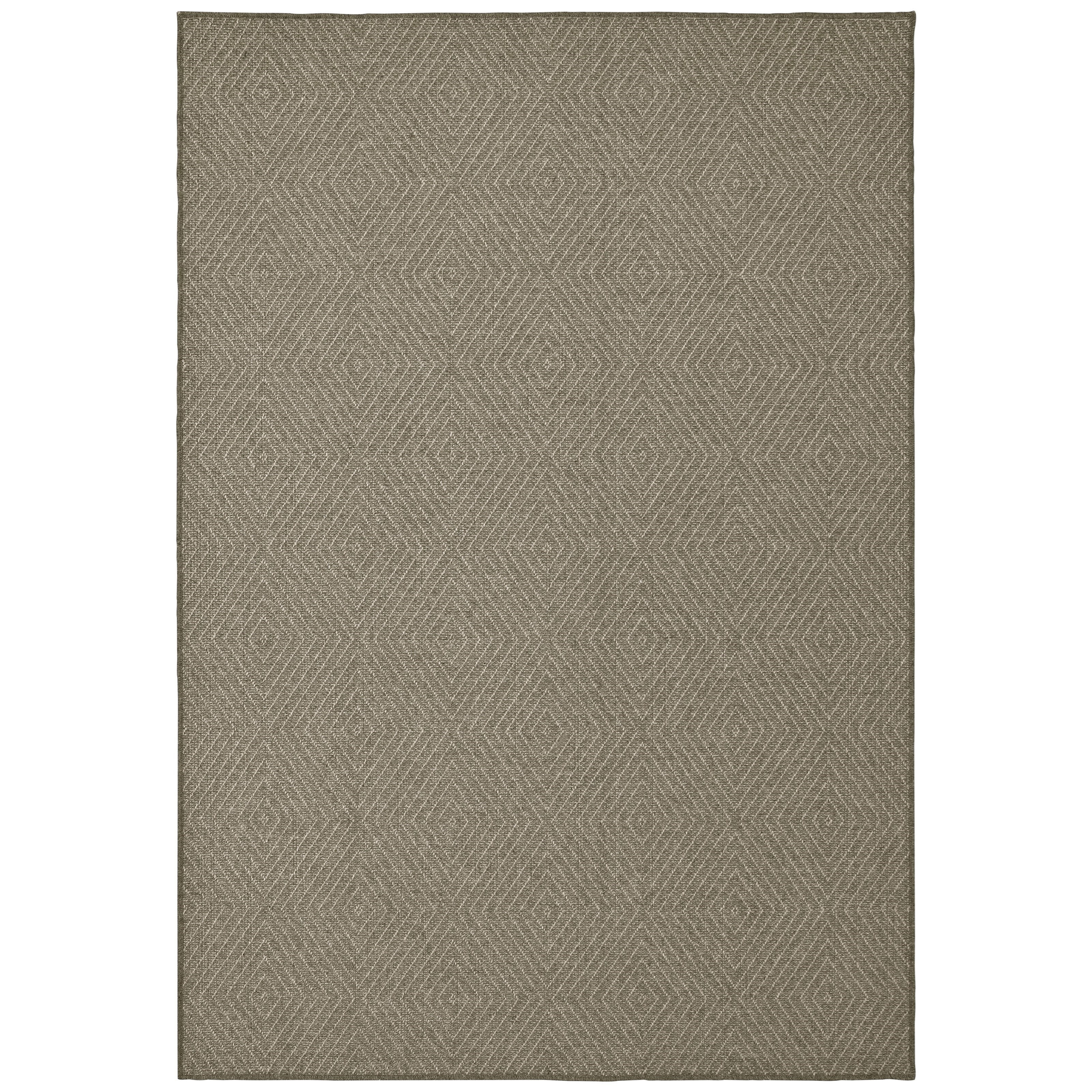 "Boucle 6' 7"" X  9' 6"" Rectangle Rug by Oriental Weavers at Darvin Furniture"