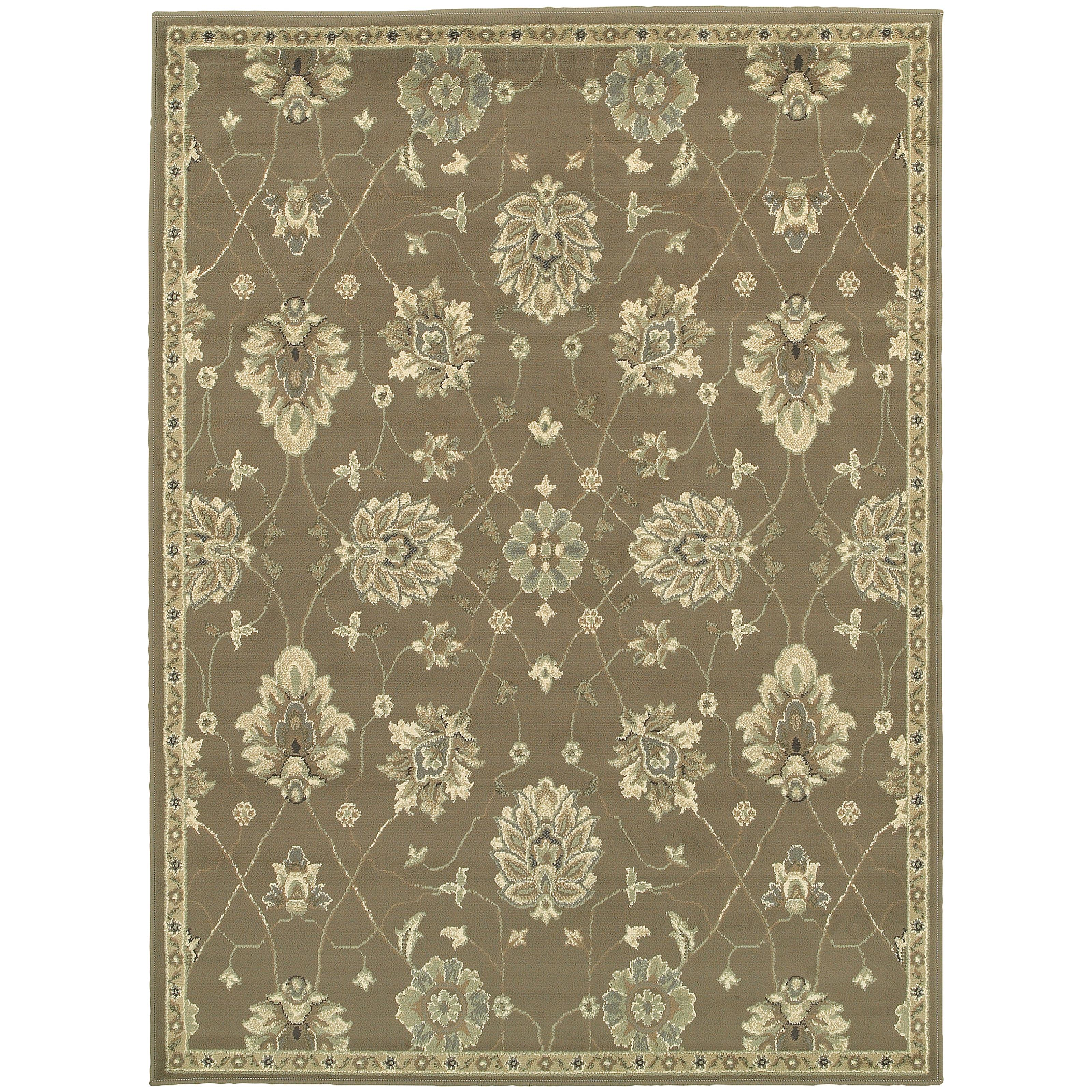 "Oriental Weavers Brentwood 3' 3"" X  5' 5"" Rug - Item Number: B1330E100165ST"