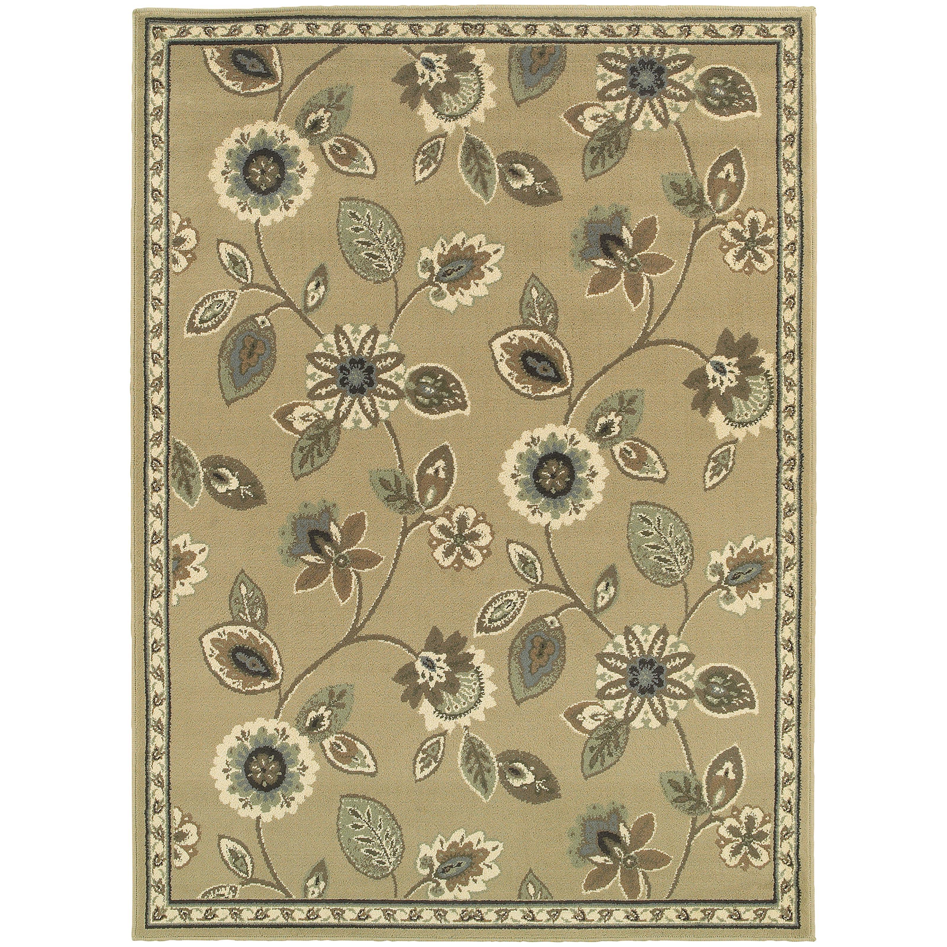 """Oriental Weavers Brentwood 5' 3"""" X  7' 3"""" Rug - Item Number: B501J9160220ST"""
