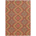 "Oriental Weavers Cabana 3'10"" X  5' 5"" Rectangle Rug - Item Number: CAB621C310X55"