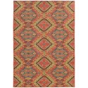 "Oriental Weavers Cabana 7'10"" X 10'10"" Rectangle Rug - Item Number: CAB621C710X1010"