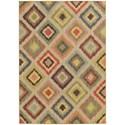 "Oriental Weavers Cabana 5' 3"" X  7' 6"" Rectangle Rug - Item Number: CAB8022W53X76"