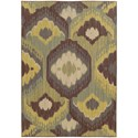 "Oriental Weavers Cabana 5' 3"" X  7' 6"" Rectangle Rug - Item Number: CAB929N53X76"