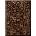 "Oriental Weavers Cambridge 3'10"" X  5' 5"" Rug - Item Number: C4520N117165ST"